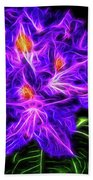 Rhododendron Topaz Beach Towel