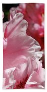 Rhododendrons Art Prints Floral Pink Rhodies Canvas Baslee Troutman Beach Towel