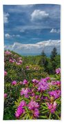 Rhododendrons Beach Towel