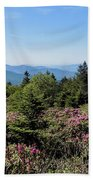 Rhododendron On Roan Mountain Beach Towel