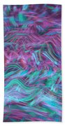 Rhythmic Waves Beach Towel