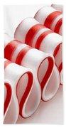 Ribbon Candy Beach Towel