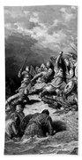 Richard I The Lionheart Delivering Jaffa 1877 Beach Towel