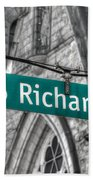 Richards Street Beach Towel