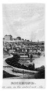 Richmond, Virginia, 1856 Beach Towel