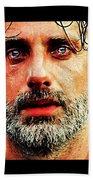 Rick Grimes Beach Towel
