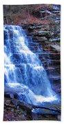 Ricketts Glen Waterfall 3941  Beach Towel