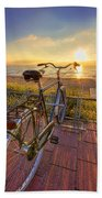 Ride Off Into The Sunset Beach Towel