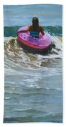 Ride The Wave Beach Towel