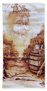 Riders In The Sky Beach Towel