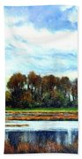 Ridgefield Refuge Early Fall Beach Towel