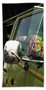 Ridin' With Jerry Beach Towel