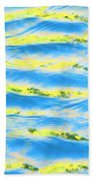 Riding A Wave Beach Towel