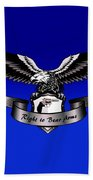 Right To Bear Arms Beach Towel