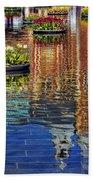 Rijksmuseum Reflection Beach Towel