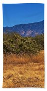 Rincon Peak, Tucson, Arizona Beach Towel