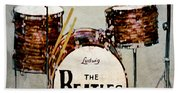 Ringo's Drums Beach Towel
