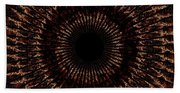 Rings Of Fire Beach Towel