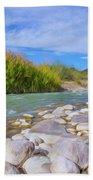 Rio Grande Hoodoos Trail Head Beach Towel