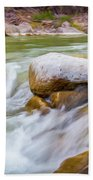 Rio Grande Rocky Flow Beach Towel