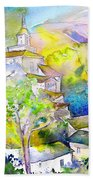 Rioja Spain 04 Beach Towel by Miki De Goodaboom