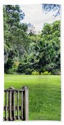 Rip Van Winkle Gardens Louisiana  Beach Towel
