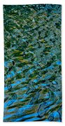 Ripple Reflections Beach Towel