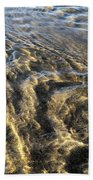 Rippled Gold Beach Towel