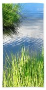 Clear And Gentle Flow Beach Towel