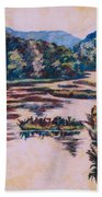 Ripples On The Little River Beach Towel