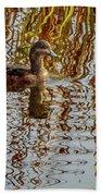 Rippling Patterns Beach Towel