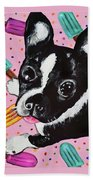 Popsicle Pup Beach Towel