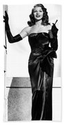 Rita Hayworth Beach Towel