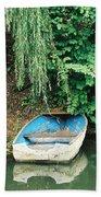 River Avon Boat Beach Towel