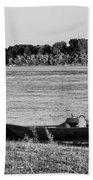 River Canoe Beach Towel
