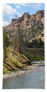 River In Shoshone Beach Towel