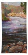 River Light Beach Towel