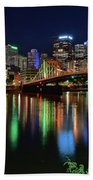 River Lights 2017 Beach Towel