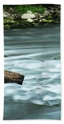 River Motion Beach Towel