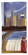 River Of Babylon  Beach Towel
