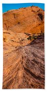 River Of Erosion Beach Towel
