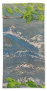 River Spring Beach Towel