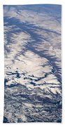 River Valley Aerial Beach Towel