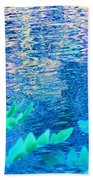 Distractions From The River Waters Beach Towel