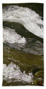 River Waves Beach Towel