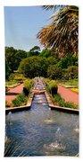 Botanical Gardens Beach Towel by Lisa Wooten