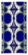 Riverdale Blue Green Beach Towel