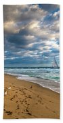 Riviera Beach Sunrise Beach Towel