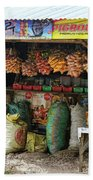 Road Side Store Philippines Beach Towel