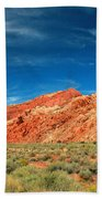 Road To Arches National Park Beach Towel